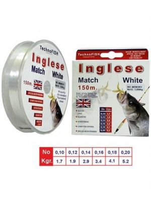 Inglese Technofish Match White