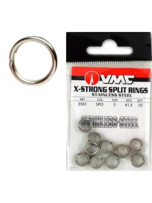 Κρικάκια VMC 3561 Split X-ring Inox